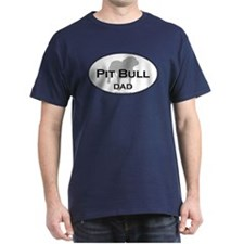 Pit Bull DAD Black T-Shirt