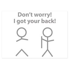 Don't worry! I got your back! Invitations