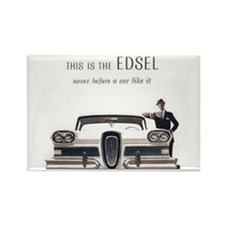 1958 Edsel Rectangle Magnet