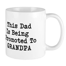 Cute New grandpa Small Mug