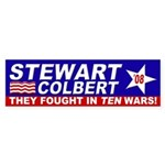Stewart-Colbert 2008: Ten Wars!