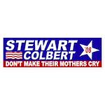 Stewart Colbert 2008 bumper sticker