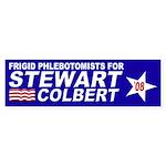 Frigid Phlebotomists for Stewart-Colbert