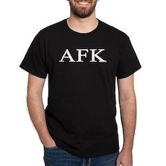 AFK Black T-Shirt