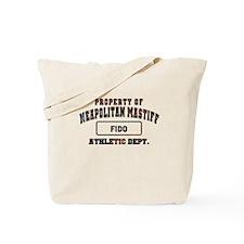 Personalized Neapolitan Mastiff Tote Bag