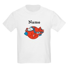 Personalized Fighter Jet Kids T-Shirt