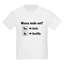 Wanna make out Kids Light T-Shirt