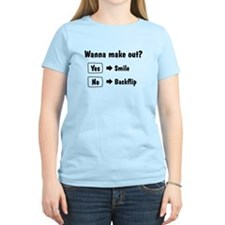 Wanna make out Women's Light T-Shirt