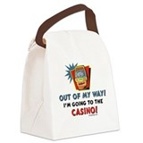 Casino Humor Canvas Lunch Bag