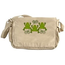 Funky Frogs Messenger Bag
