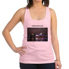CINNCINATI ohio gifts Racerback Tank Top