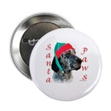 Santa Paws English Setter Button