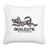 Quileute Reservation Square Canvas Pillow