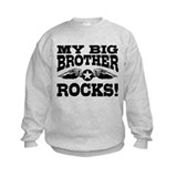 My Big Brother Rocks Sweatshirt