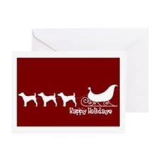 """JRT """"Sleigh"""" Greeting Cards (Pk of 10)"""