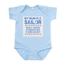 My Mum is a Sailor (Blue) Onesie