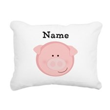 Personalized Pig Pillow