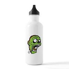 Zombie Head Sports Water Bottle
