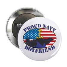 Proud Navy Boyfriend Button