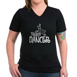 Team DANCER V-Neck Dark T-Shirt