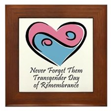 Transgender Day of Remembrance Framed Tile