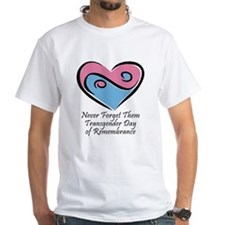 Transgender Day of Remembrance White T-shirt