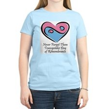 Transgender Day of Remembrance Women's Pink T-Shir