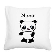 Personalized Panda Pillow