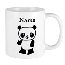 Personalized Panda Small Mug