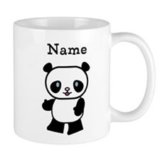 Personalized Panda Small Mugs