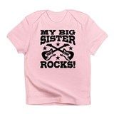 My Big Sister Rocks Infant T-Shirt