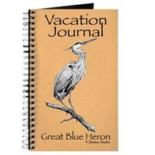 Great Blue Heron Vacation Journal