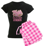 Welsh Corgi Mom Women's Dark Pajamas
