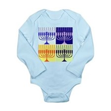 Hanukkah Gifts Long Sleeve Infant Bodysuit