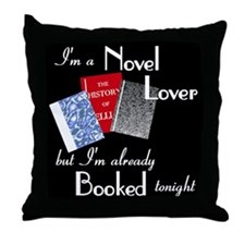 Novel Lover Throw Pillow