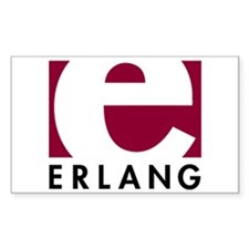 Erlang Logo Decal
