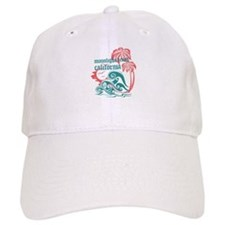 Wavefront Moonlight Beach Baseball Cap