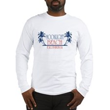 Moonlight Beach Regal Long Sleeve T-Shirt