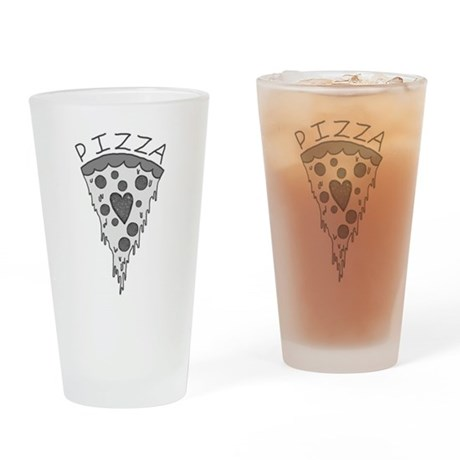 Pizza Lover 2 Drinking Glass
