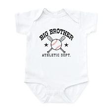 Big Brother Baseball Infant Bodysuit