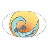 Windansea Sunset Crest Decal