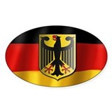 Germany coat of arms sticker (light gradients) Sti
