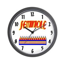 SEMINOLE TRIBE Wall Clock