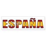 Spain Bumper Bumper Stickers
