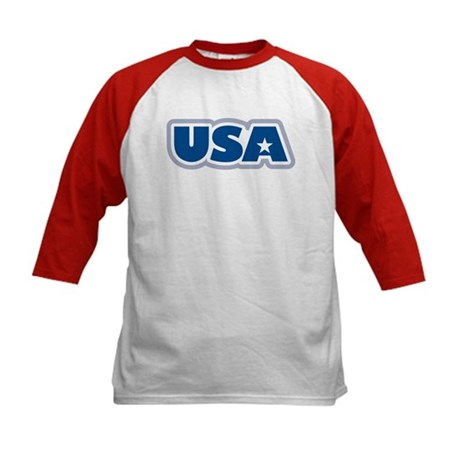 USA: Kids Baseball Jersey