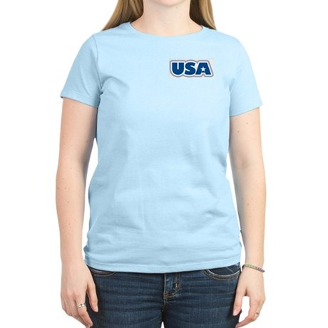 USA: Women's Pink T-Shirt