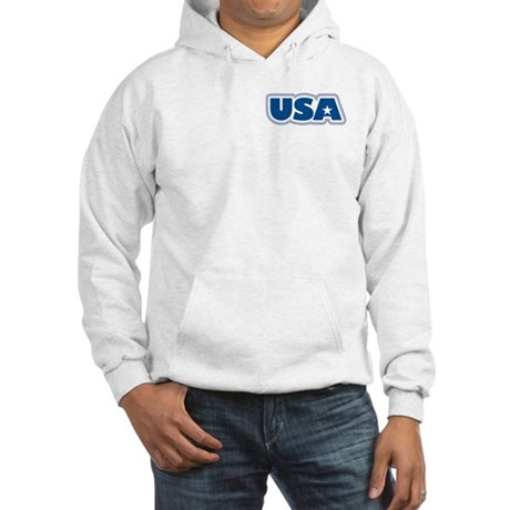 USA: Hooded Sweatshirt