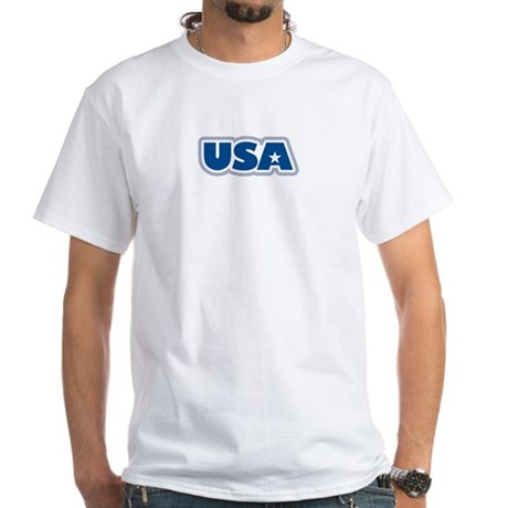USA: White T-Shirt
