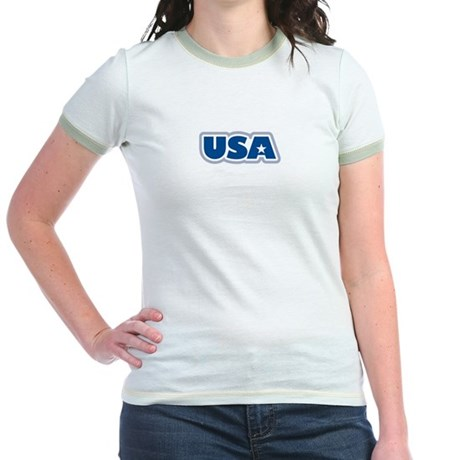 USA: Jr. Ringer T-Shirt