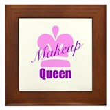 Makeup Queen Framed Tile